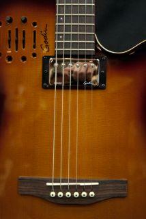2012 Godin A6 Ultra Cognac Burst Acoustic Electric Guitar w Case