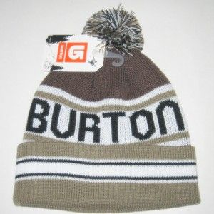 BNWT Burton 2010 Trope Beanie Hat Snowboard Ski Winter