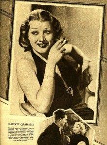Mae Clark James Cagney Frances Dee Margot Grahame Picture Show UK