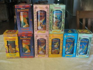 1994 Burger King Collector Series Cups in Boxes 9 Total