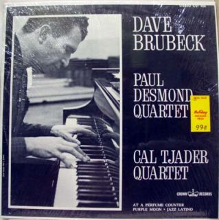 dave brubeck paul desmond cal tjader quartet label crown records