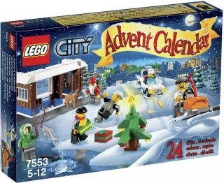 Lego 7553 City Christmas Holiday Advent Calendar 2011