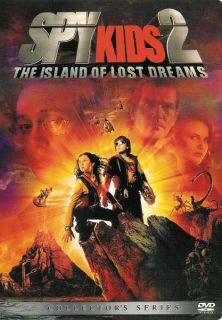 Spy Kids 2 Island of Lost Dreams Collectors Series DVD 786936164862