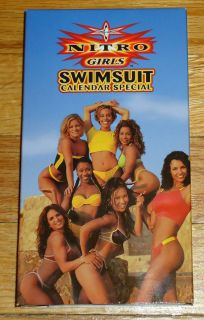 NWO video Nitro Girls Swimsuit Calendar VHS Kimberly Page Chae Spice