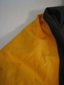 Burton Ronin Gray Black Gold Snow Board Ski Jacket Coat Mens Small