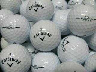 40 Callaway HX DIABLO   TOUR BLACK Golf Balls   Mint & Near Mint
