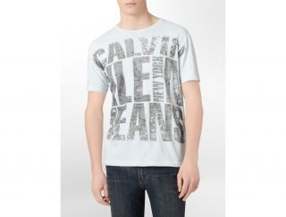 Calvin Klein Jeans Oversized Logo Graphic T Shirt Mens