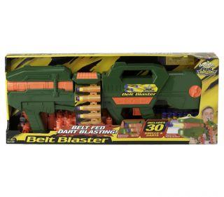 Buzz Bee Belt Blaster Gun Pump Shells Micro Darts Nerf Longshot Vulcan