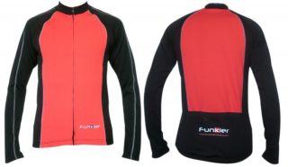 Winter Long Sleeve Cycling Jersey Winter Fleece Cycling Jersey