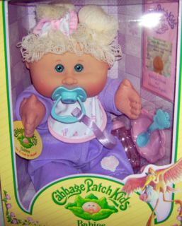 2004 2005 cabbage patch kids play along kid mib mint in box and nrfb