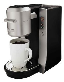 Mr Coffee BVMC KG2 001 Single Serve Maker Silver Coffeemaker Cup Cups