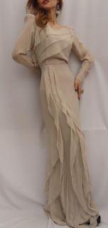 BN by Malene Birger Blk Silk Maxi Dress Ball Gown UK12 Just Elegant