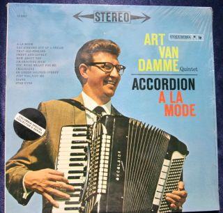 The Art Van Damme Quintet Accordian A La Mode NM LP