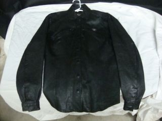 DAVIDSON WOMENS LEATHER JACKET W LINER SIZE MED Cambria Leather NICE