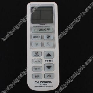 Chunghop Universal A C Remote Control K 108ES