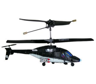 Air Wolf Ox 3CH R C Remote Control Infrared Helicopter