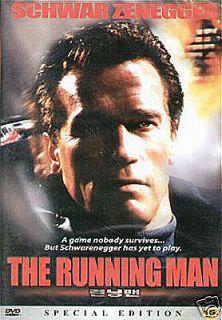 Running Man DVD Schwarzenegger Stephen King Sci Fi Cop