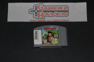 Diddy Kong Racing Nintendo 64 1997 N64 Game