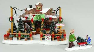 Department 56 Snow Village Lyndale Tree Lot 7644179