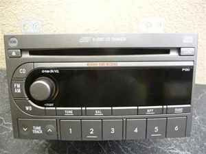 2004 2006 subaru forester 6 cd player radio p130 oem