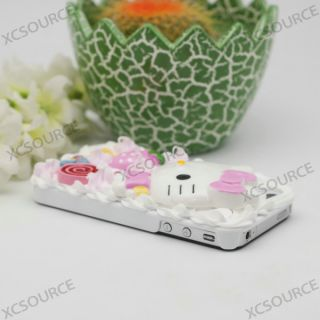 Hello Kitty Cake Hard Case gift cover for apple iPhone 4S 4G 4 cover