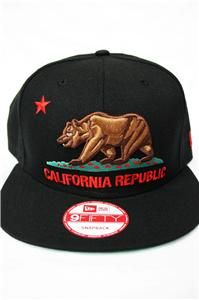 New Era California Republic Cali SF Nor Cal La Kings Lakers Dodgers