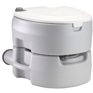 New Coleman Large Camping Outdoor Portable Flush Toilet