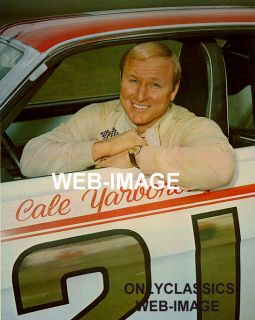 1968 Cale Yarborough Stock Car NASCAR Auto Racing Photo