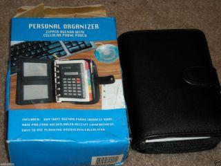 Personal Organizer Book Planner Calendar New