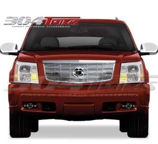 Cadillac Escalade ESV Ext 2002 2003 2004 2005 2006 Top Chrome Billet