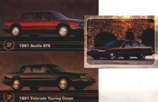 1991 CADILLAC SEVILLE STS 91 ELDORADO TOURING COUPE COLLECTOR