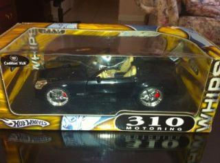 Cadillac XLR Hot Wheels Whips Metal Collection Black High Detail 1 18