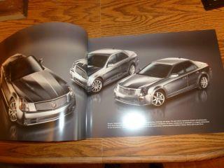 Cadillac cts V STS V XLR V Original Sales Brochure Book 2006 cts V