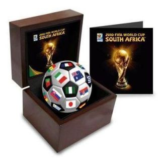 2010 Limited Edition Ceramic Ball in Display Box Cahill Ronaldo