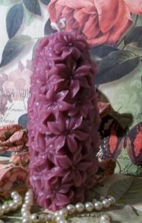 Silicone Hyacinth Flower Pillar Candle Mold