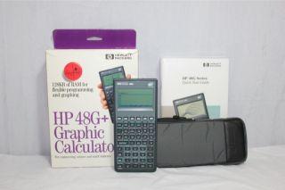 HP 48g Plus Graphing Calculator w Manual Box Case