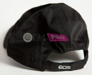 Canon CPS Pro Gear Baseball Cap Hat Black 6d EOS 3D EOS M Body Kit 7D