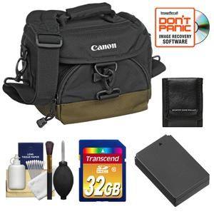 Canon 100EG Digital Camera Case Bag Kit for EOS M Mirrorless Compact