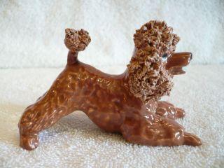 Spaghetti Poodle Dog Figurine Jane Callender Calif Art Pottery
