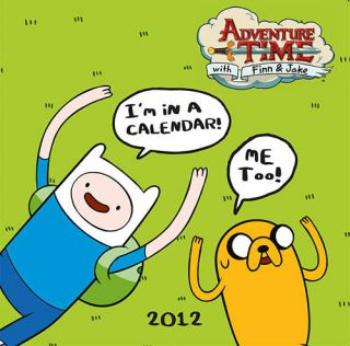 time 2012 wall calendar this is a 2012 calendaradventure time wall