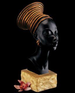 Nubian Queen Kandake Candace Sculpture Bust