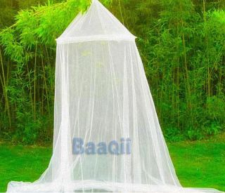 White Lace Princess Girls Bed Canopy Mosquito Net Netting Bedroom