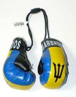 "Barbados Flag ""Mini Boxing Gloves"""