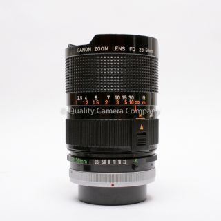 Canon FD 28 50mm F 3 5 Macro Zoom Super Sharp Great Range Excellent