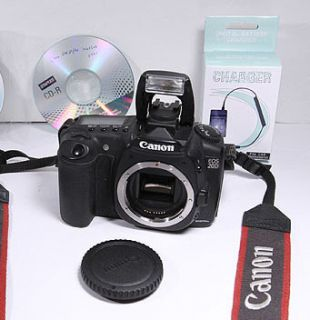 Canon EOS 20D Body with Strap Charger Software Battery