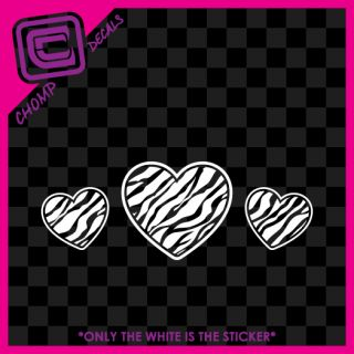 Hearts Girly Cute Love Sexy Car Rock Vinyl Decals Stickers