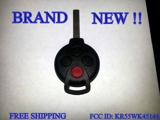 MERCEDES BENZ SMART CAR FOURTWO KEYLESS REMOTE KEY FCC ID KR55WK45144