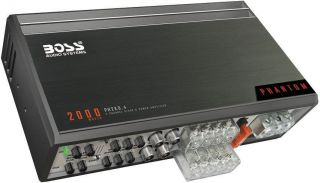 New Boss PH2KD4 2000W Class D 4 CH Car Audio Amplifier Amp 4 Channel