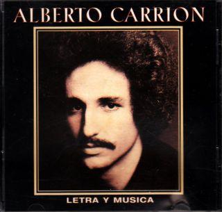Alberto Carrion Letra Y Musica Puerto Rico CD 70s RARE