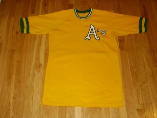 VINTAGE SANDKNIT JOSE CANSECO OAKLAND ATHLETICS AS 33 THROWBACK JERSEY